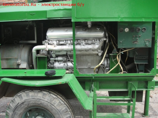 Дизель-генератор сделано в России 60 (кВт) б.у. Жми!