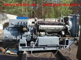 Дизель-генератор АД-200 (200 кВт) без наработки 1988 г.в. – ПРОДАН