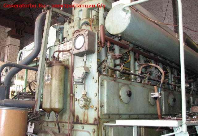 630 (кВт) дизельная электростанция стационарная ДГ-66