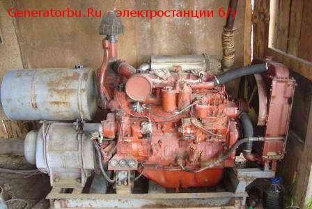 Продажа ДЭС АД-30-Т400 (30 кВт, 380В), двигатель Д-60 (г. Иваново)