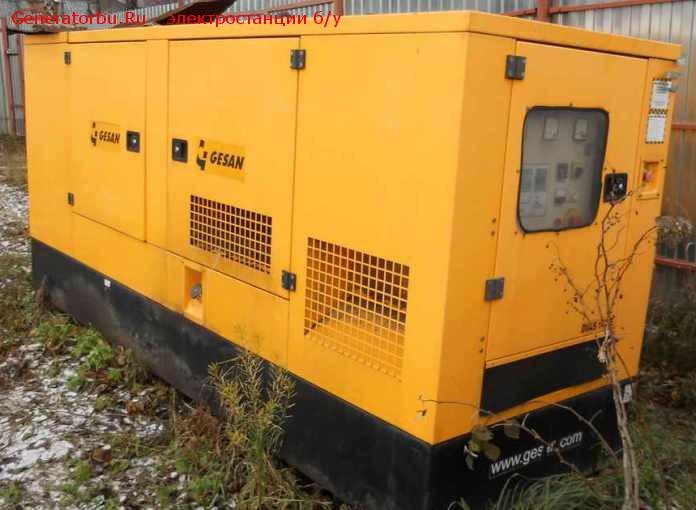 Электростанция бу GESAN 100 кВт (двиг. Volvo), шумозащитный кожух – 490 т.р.