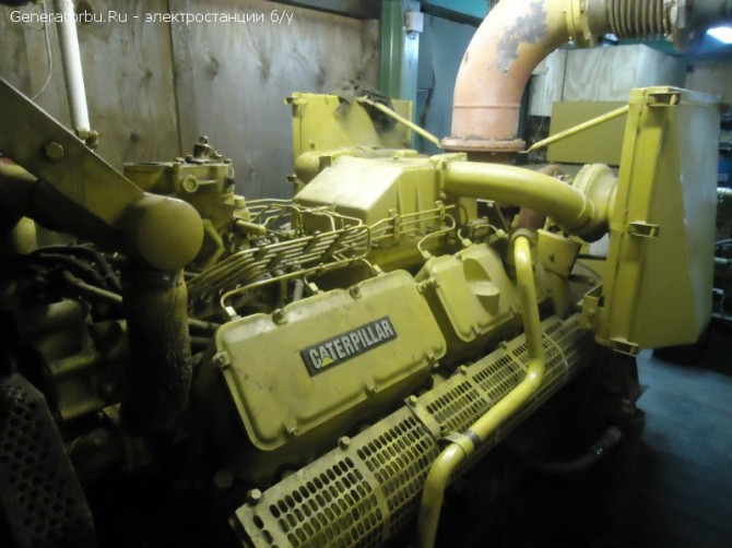 Электростанция Caterpillar номин. 480 кВт – цена 995 т.р.