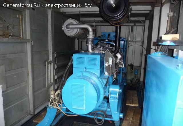 Продаем дизельную электростанцию АД-200-Т400 (200 кВт, ЯМЗ-7514) в КОНТЕЙНЕРЕ, наработка всего 200мт.ч.