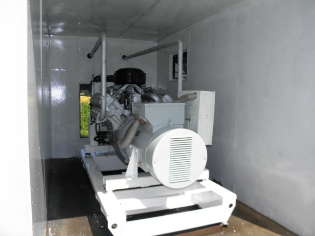 Дизель генератор 100 кВт с ЯАЗ-238 в контейнере - Генераторбу.Ру 2