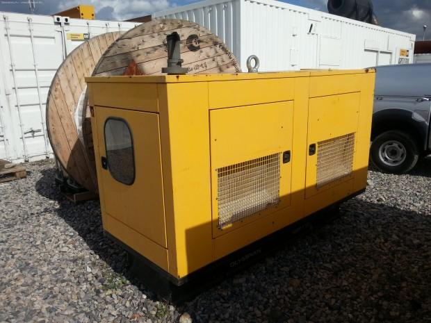 Дизельный генератор Caterpillar 80 кВт (2010г., 7300мт.ч.). Подробнее.
