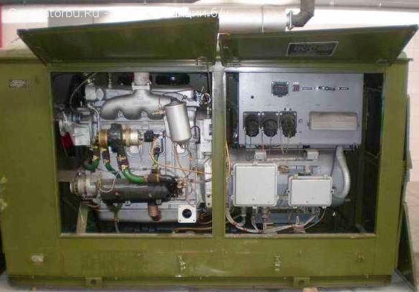 Электростанция дизельная АД 30 (кВт) дизель двигетель ЯАЗ-204