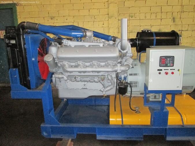 Дизель генератор с госрезерва АД-150 (150 кВт, 187-188 кВа), ЯМЗ238ДИ (г. Москва).