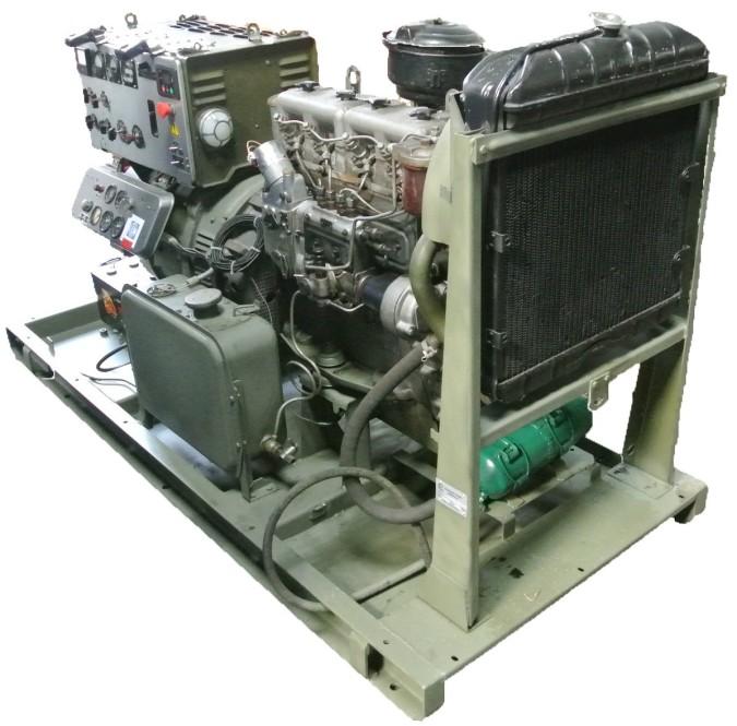 Дизель-генератор с хранения АД-30 (30 kVt) Д-60 г. Москва.